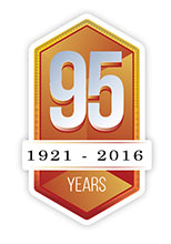 95 Years Badge