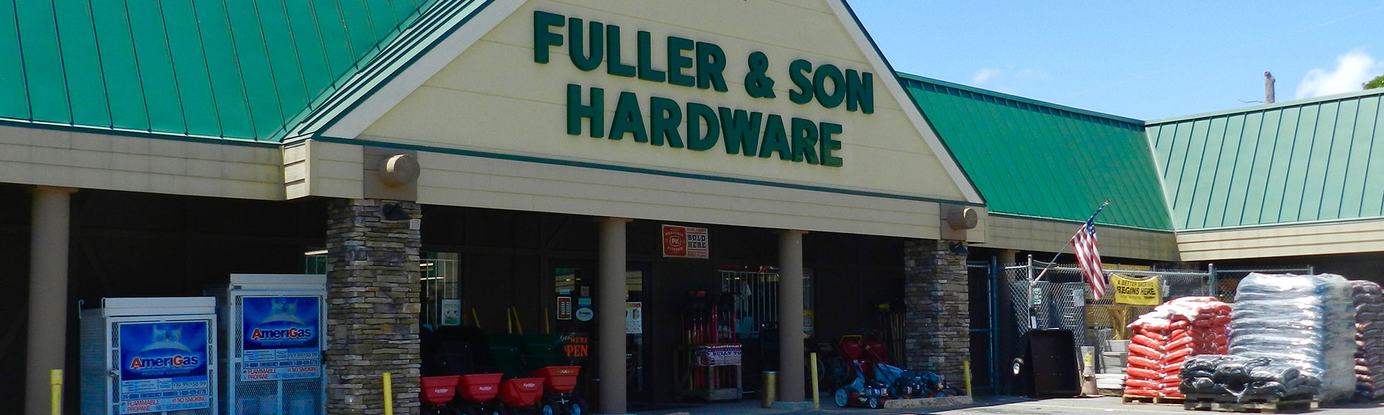 Fuller and Son Hardware Storefront